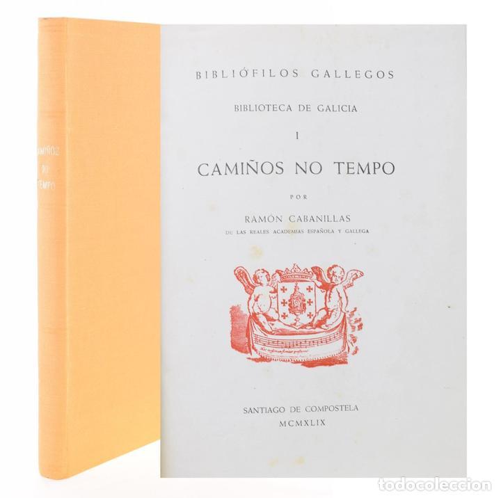 CAMIÑOS NO TEMPO - CABANILLAS, RAMÓN (Libros sin clasificar)