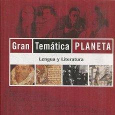 Bücher - VV.AA. - GRAN TEMATICA PLANETA. LENGUA Y LITERATURA. - 97056075