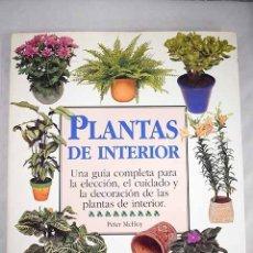 Libros: PLANTAS DE INTERIOR. Lote 97342488