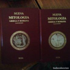 Libros: NUEVA MITOLOGÍA GRIEGA Y ROMANA. JUAN RICHEPIN. Lote 97410722