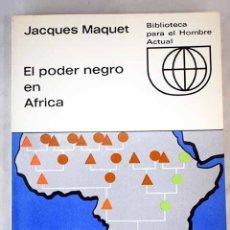 Libros: EL PODER NEGRO EN ÁFRICA. Lote 97819975