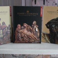 Libros: LUMEN CANARIENSE.EL CRISTO DE LA LAGUNA Y SU TIEMPO.3 TOMOS EN SU ESTUCHE. CANARIAS 2004. UNA JOYA.. Lote 207991243