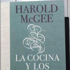Libros: LA COCINA Y LOS ALIMENTOS HAROLD MCGEE . Lote 98244459