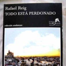 Libros: TODO ESTÁ PERDONADO. Lote 98521608