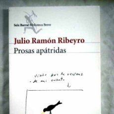 Libros: PROSAS APÁTRIDAS: (COMPLETAS). Lote 98521618