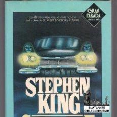 Libros: CHRISTINE - STEPHEN KING - PRIMERA EDICIÓN - 1983 - PLAZA JANES GRAN PARADA - EXCELENTE. Lote 98660147