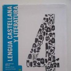 Libros: LENGUA CASTELLANA Y LITERATURA, 4 SECUNDARIA. ENLACE: [PROYECTO SM SECUNDARIA] - SALVADOR ÁLVARO. Lote 98746643