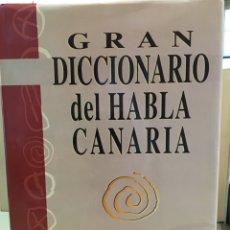 Libros: GRAN DICCIONARIO DEL HABLA CANARIA. Lote 96521904