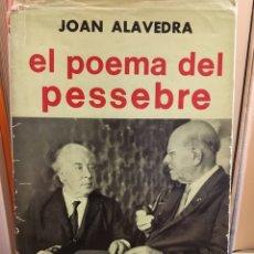 Libros: EL POEMA DEL PESSEBRE. Lote 96518024