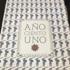 Libros: AÑO CIENTO UNO. Lote 96523570