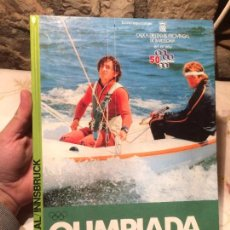 Libros: ANTIGUO LIBRO OLIMPIADA MONTREAL / INNSBRUCK ESCRITO POR ANDREU MERCE VARELLA AÑO 1976 . Lote 99232923