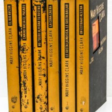 Libros: CLARK, MARY HIGGINS: BIBLIOTECA MARY HIGGINS CLARK (6 VOLS.) (CÍRCULO DE LECTORES) (CB). Lote 99288367