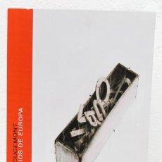 Libros: ROUGEMONT, DENIS DE: TRES MILENIOS DE EUROPA (VEINTISIETE LETRAS) (CB). Lote 99877331