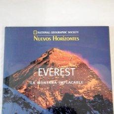 Libros: EVEREST: LA MONTAÑA IMPLACABLE. Lote 100410058
