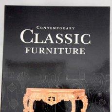 Libros: CONTAMPORANY CLASSIC FORNITURE. Lote 100411055