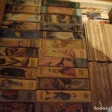 Libros: PRECIOSO LOTE DE 75 LIBROS PULGA 25 GORDOS Y 50 FINOS VER TODOS MIS LOTES DE LIBROS. Lote 100415447