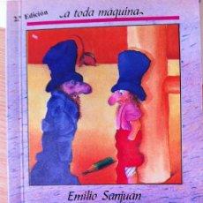Libros: CARBONILLA, UN DUENDE CON CHISTERA Y ZAPATILLAS - EMILIO SANJUAN. ILUSTRADO POR EMILIO LOSADA. Lote 100804354