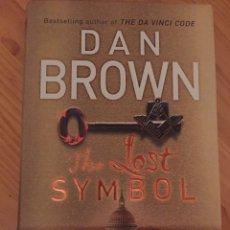 Libros: LIBRO DAN BROWN THE LOST SYMBOL TAPA DURA. Lote 100845538