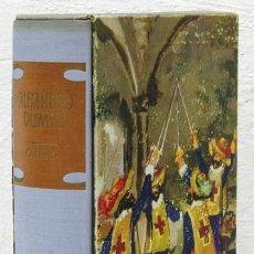 Libros: DUMAS, ALEJANDRO: LOS TRES MOSQUETEROS; EL CONDE DE MONTECRISTO (VERGARA) (CB). Lote 100904463