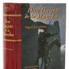 Libros: CERVANTES, MIGUEL DE: DON QUIJOTE DE LA MANCHA (ILUSTRADO POR JOSÉ SEGRELLES) (ESPASA CALPE) (CB). Lote 100906267