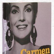 Libros: HERRERA, CARLOS: CARMEN SEVILLA. MEMORIAS (BELACQUA) (CB). Lote 100906831