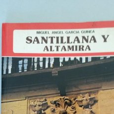 Libros: SANTILLANA Y ALTAMIRA - GARCÍA GUINEA, MIGUEL ÁNGEL. Lote 100925239