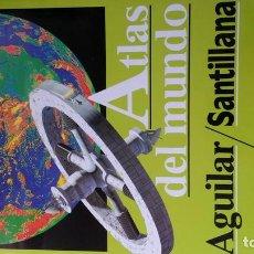 Libros: ATLAS DEL MUNDO AGUILAR / SANTILLANA - LUIS BERGQUIST. Lote 100935711