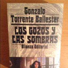 Libros: LOS GOZOS Y LAS SOMBRAS (GONZALO TORRENTE BALLESTER) OBRA COMPLETA. ALIANZA EDITORIAL. PRECINTADO. Lote 100964323