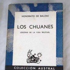 Libros: LOS CHUANES: ESCENAS DE LA VIDA MILITAR. Lote 101118472