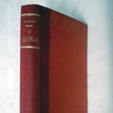 Libros: EL INGENUO. Lote 101118480