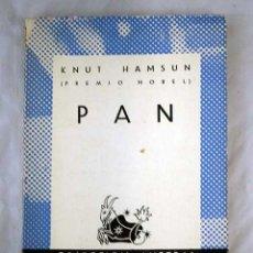 Libros: PAN. Lote 101118482