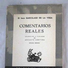 Libros: COMENTARIOS REALES. Lote 101118486