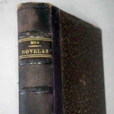 Libros: NOVELAS:: NANÁ ; L ASSOMMOIR ; ¡YO ACUSO.!. Lote 101118500