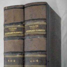 Libros: DICCIONARIO FILOSÓFICO. Lote 101118503