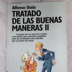 Libros: TRATADO DE LAS BUENAS MANERAS II. Lote 101118524