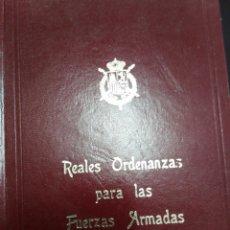 Libros: REALES ORDENANZAS PARA LAS FUERZAS ARMADAS, 1979.. Lote 102533620