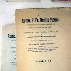 Libros: SAN BENITO MENNI: BIOGRAFÍA DOCUMENTADA. Lote 102995798