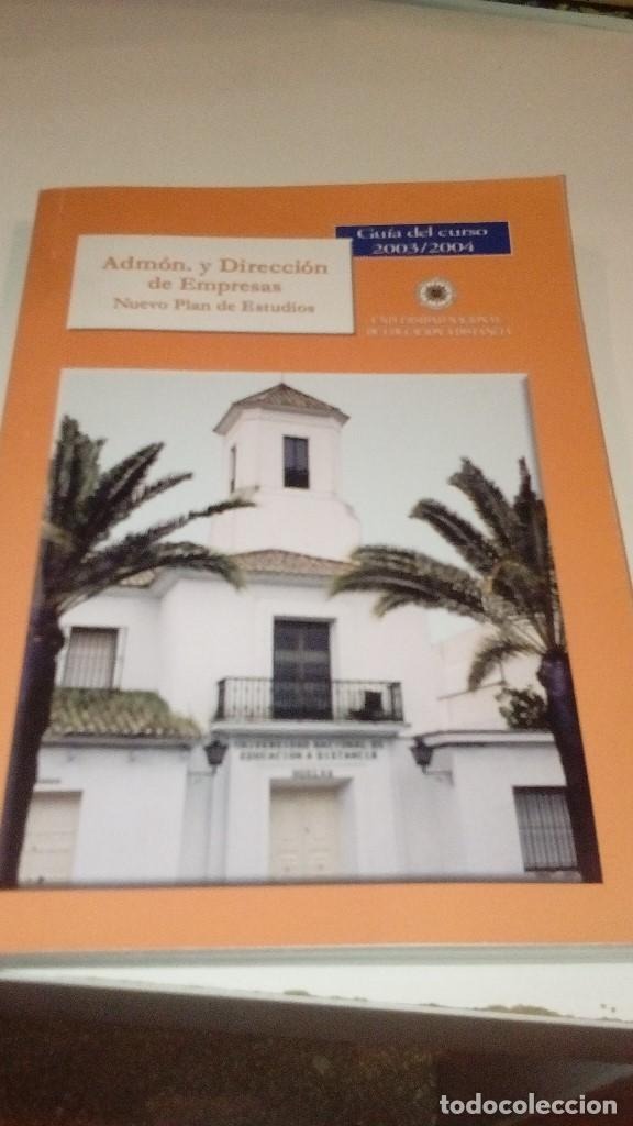 C-051297 LIBRO ADMON Y DIRECCION DE EMPRESAS NUEVO PLAN DE ESTUDIOS GUIA DEL CURSO (Libros sin clasificar)