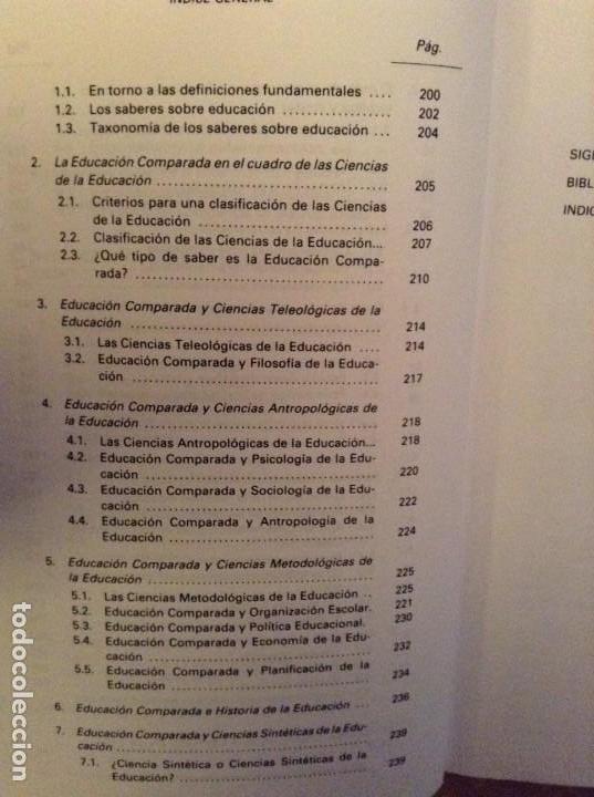 Libros: FUNDAMENTOS DE EDUCACION COMPARADA (JOSE LUIS GARCIA GARRIDO) DYKINSON - Foto 7 - 103357215