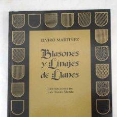 Libros: BLASONES Y LINAJES DE LLANES. Lote 103458110