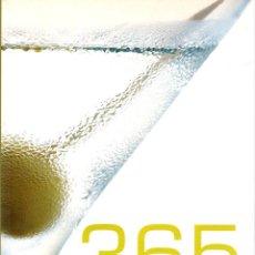 Libros: 365 CÓCTELES. - LUCAS, BRIAN. Lote 103657027