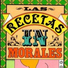 Libros: LAS RECETAS INMORALES - VÁZQUEZ MONTALBÁN, MANUEL. Lote 103657120