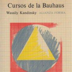 Libros: CURSOS DE LA BAUHAUS - KANDINSKY, WASSILY. Lote 103657148