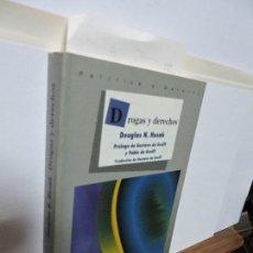 Libros: DROGAS Y DERECHOS. HUSAK, DOUGLAS N. ED. FONDO DE CULTURA DE MÉXICO. MÉXICO 2001. Lote 103660535