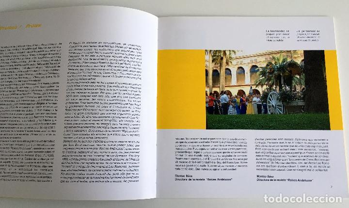 Libros: LIBRO 15 AÑOS DE SOLIDARIDAD ROCIERA - 15 ANYS DE SOLIDARITAT ROCIERA. TEXTO EN CASTELLANO Y CATALAN - Foto 2 - 103680283