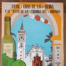 Libros: VINARIA. REVISTA FERIA LA PALMA DEL CONDADO. HUELVA. N° 10. 2011 ANDALUCÍA. Lote 103759391