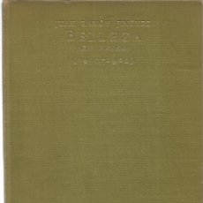 Libros: BELLEZA EN VERSO ( 1917-1923) - JIMENEZ, JUAN RAMON. Lote 94247327