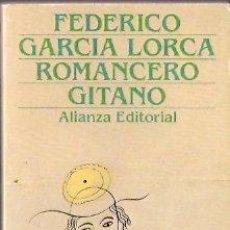 Libros: ROMANCERO GITANO - GARCÍA LORCA, FEDERICO. Lote 104007352