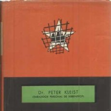 Libros: ENTRE HITLER Y STALIN - KLEIST, PETER. Lote 104178012