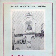 Libros: LEYENDAS Y TRADICIONES SEVILLANAS. Lote 104299335